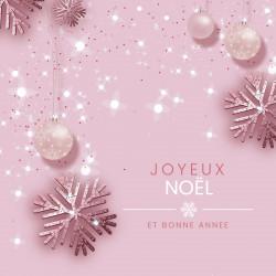 """Packaging personnalisé - Carte Caméléon """"Joyeux Noël et Bonne Année"""""""
