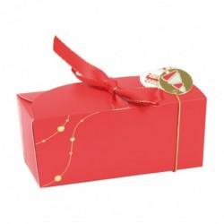Ballotin ruban Christmas