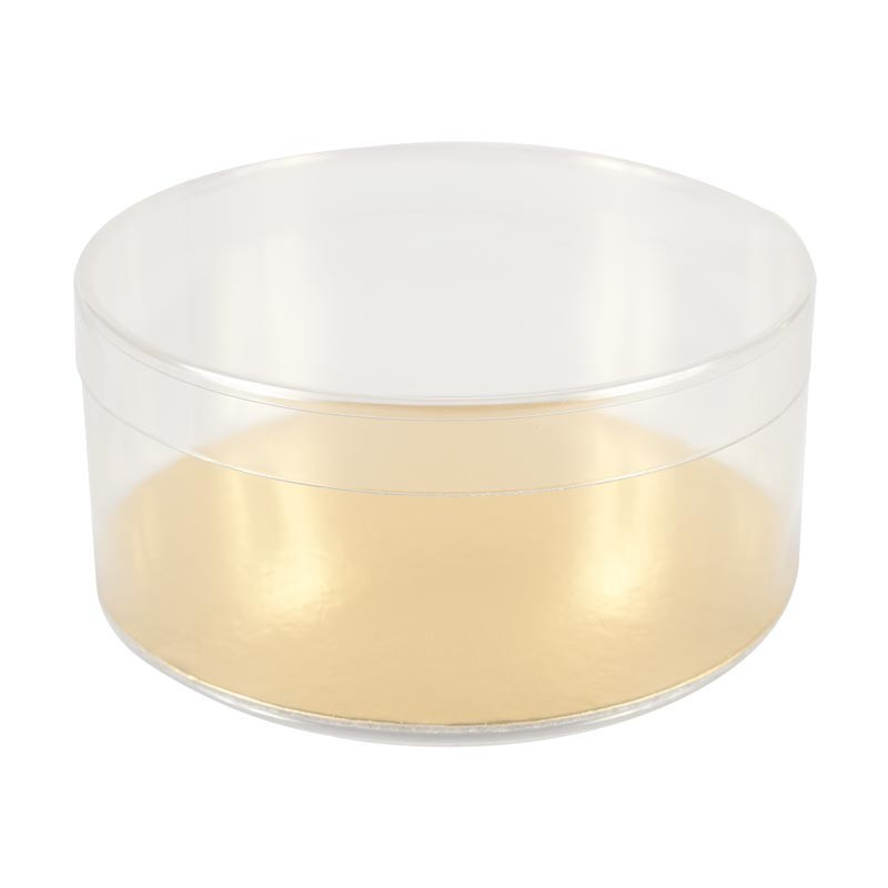 Boîte ronde Transparent