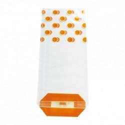 Sachet Pois Vert, Blanc ou Orange