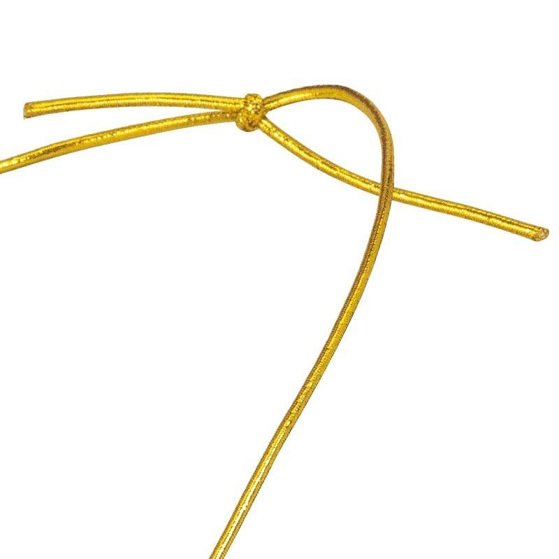 Cordon élastique Or fin