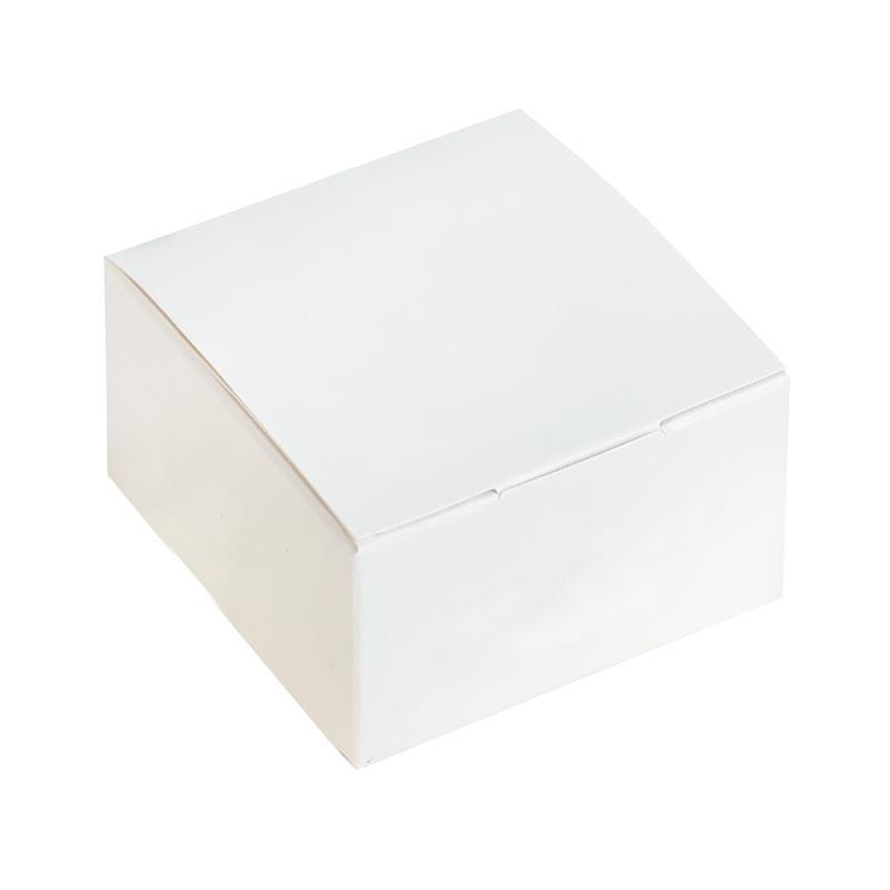 Boîte pliante blanche