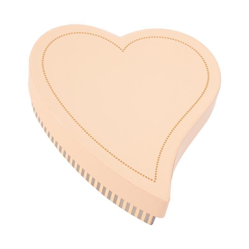 Création Packaging luxe pour St-Valentin en Promotion - Cœur Poudrée