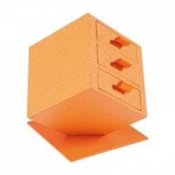 Packaging cube avec tiroirs pour chocolatiers confiseurs - Prima Kenya