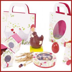 Kit Pâques à la Campagne - Gamme de Packagings chocolatier clé en main