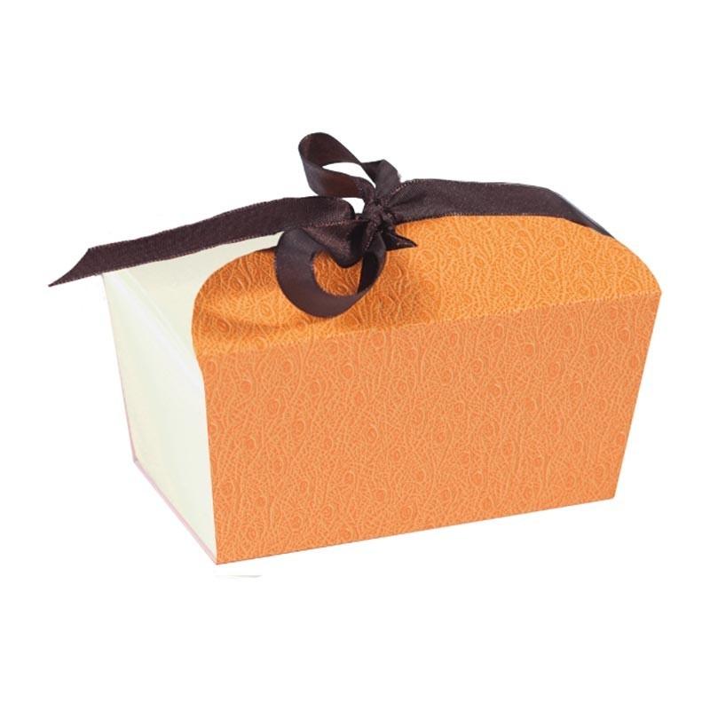 Achat packaging luxe pour chocolatier - Fourreau ruban Kenya pour Ballotin