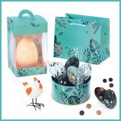 Kit Céladon - Gamme de Packagings luxe à prix mini pour chocolatiers