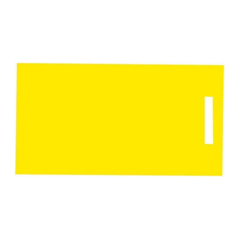Fabriquant de packaging et accessoires - Étiquette jaune