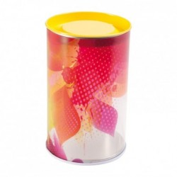 Fabriquant de packaging confiseurs - Tube couvercle métal Evanescence
