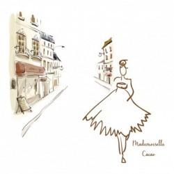 Packaging personnalisé Mademoiselle Cacao - Carte Caméléon B-12