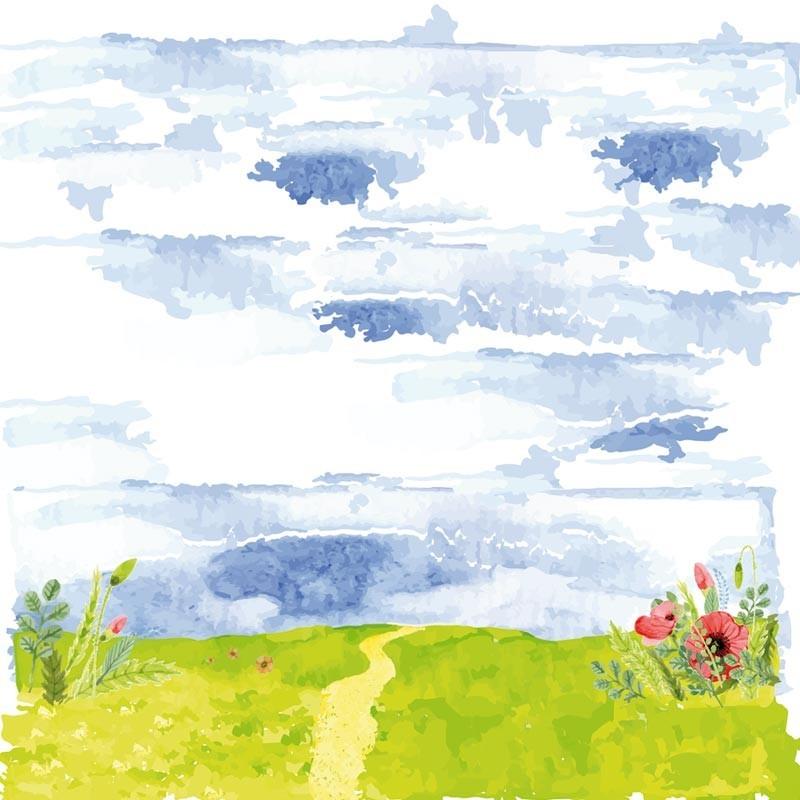 Carte Caméléon C-04   Printemps