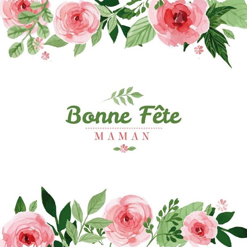 Emballage personnalisé - Bonne Fête Maman - Carte Caméléon I-02