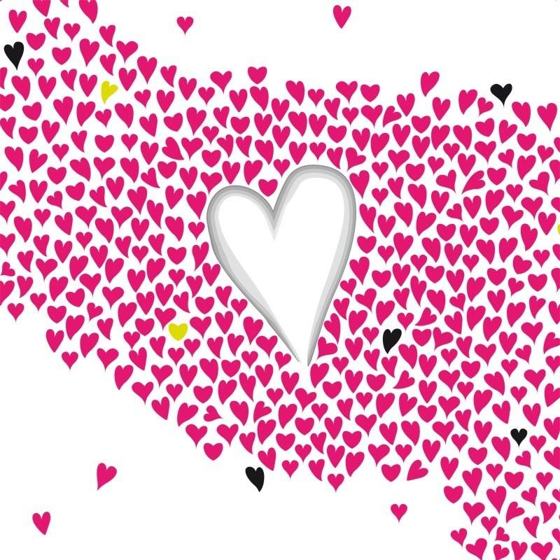Emballage personnalisé pour fêtes des Amoureux - Carte Caméléon I-24