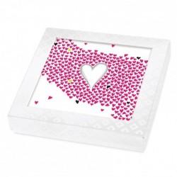 Emballage personnalisé pour fêtes des Amoureux - Boîte Caméléon I-24
