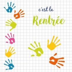 Boîte Personnalisable pour Rentrée des classes - Carte Caméléon I-12