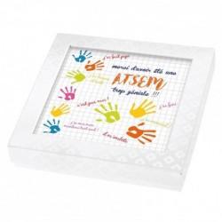 Boîte Personnalisable pour Rentrée des classes - Version Atsem - Boîte Caméléon I-12