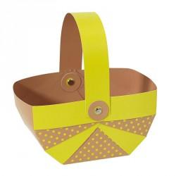 Packaging alimentaire pour chocolatiers - Panier Joyeuses Pâques