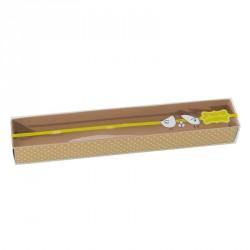 Emballage alimentaire chocolat confiserie - Réglette Joyeuses Pâques