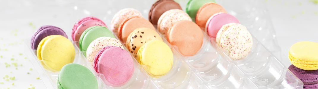Gamme Transparente: Boîtes Macarons Mac Transparente