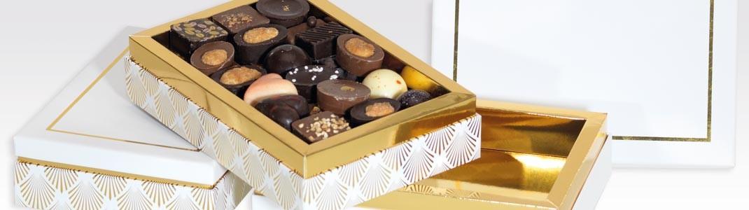 Achat de Packaging, emballages, boîtes empilables de luxe !