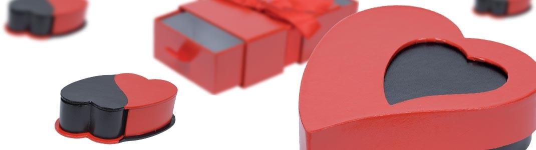 Achat packaging de St Valentin pour chocolatiers à prix cassés