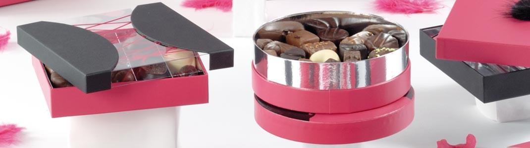 """Déstockage de la collection de boîtes de Luxe St Valentin """"Tentation"""""""