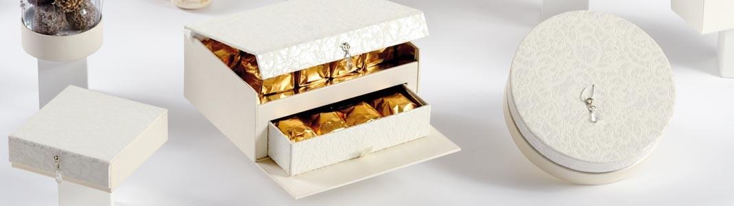 """Déstockage de la collection de packaging """"Tsarine"""" pour chocolatiers"""