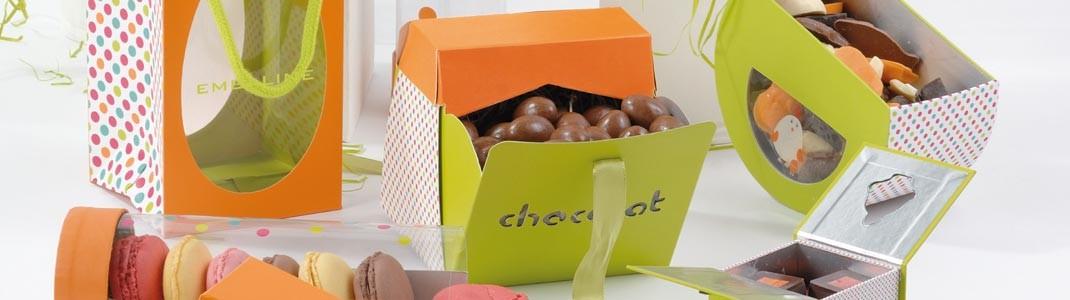 Collection d'emballage alimentaire pour pâques en promo - Plumettis