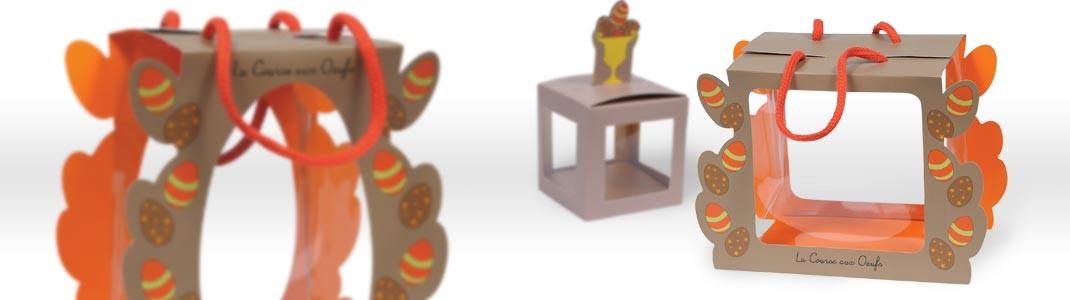 Gamme d'emballage alimentaire Pâques en promotion - La Course aux œufs