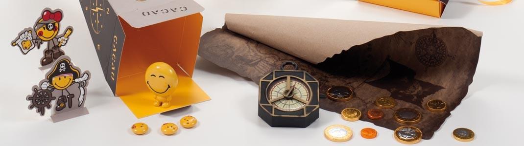 Gamme de packaging alimentaire ludique Smiley pour Pâques à prix d'or