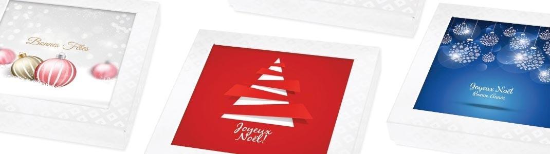 Cartes Caméléon sur le thème de Noël pour un graphisme toujours d'actu