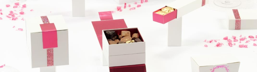 "Collection de Packaging ""Strass"" pour chocolatiers et confiseurs"