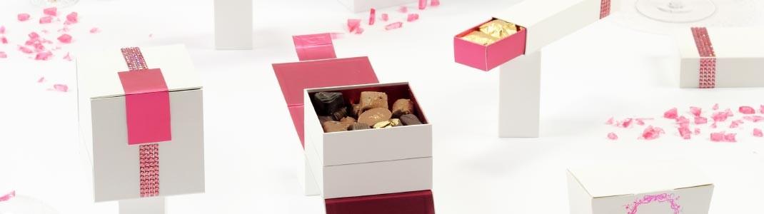 """Collection de Packaging """"Strass"""" pour chocolatiers et confiseurs"""