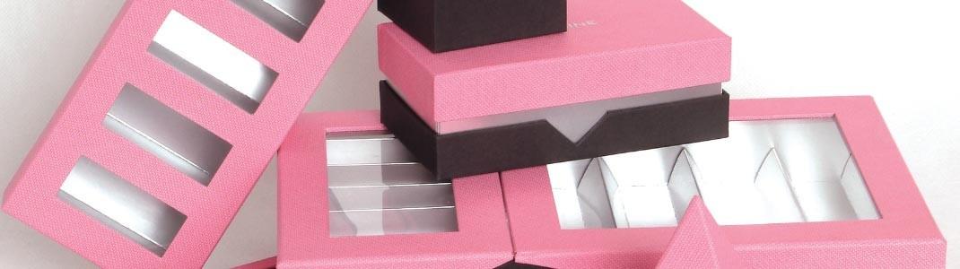 """Gamme de Packaging """"Réglisse"""" rose et grise en promotion !"""