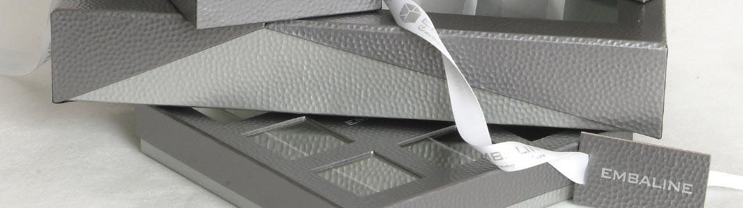 """Collection de Packaging """"Metallic"""" pour chocolatiers et confiseurs"""