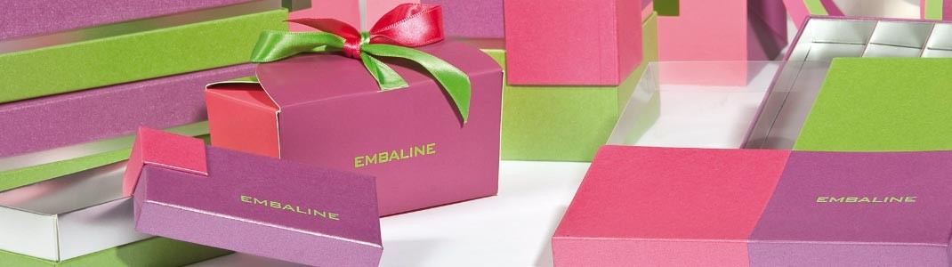 """Gamme de packaging """"Figue"""" - Promotions - Emballages pour chocolatiers"""