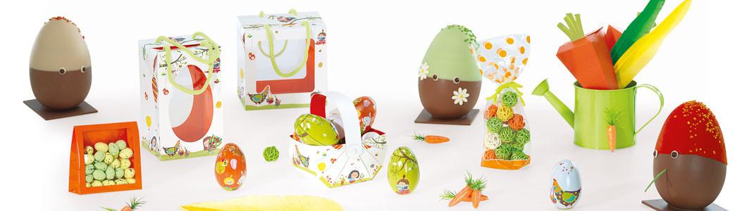 """""""Les Bambinos"""" - Collection de Packagings pour Chocolats de Pâques"""