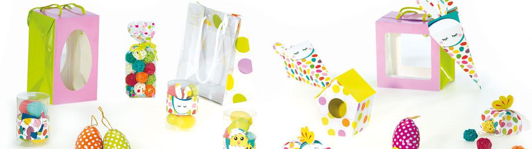 """""""Pâques en folie"""" - Packagings amusants pour chocolatiers/pâtissiers"""