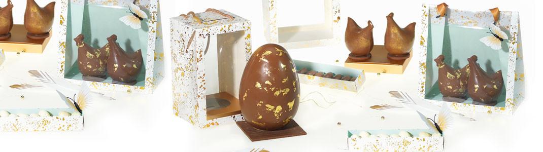 """""""Via antica"""" - Des Packagings chics pour chocolats de Pâques"""