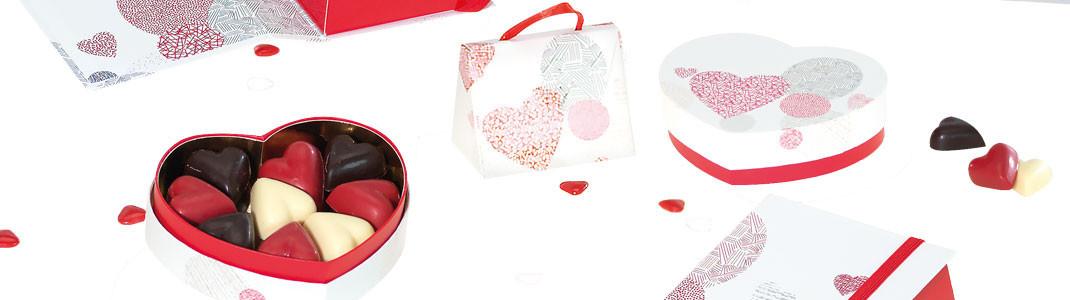 """Collection d'emballages """"Passion"""" - Packagings pour la saint-valentin"""