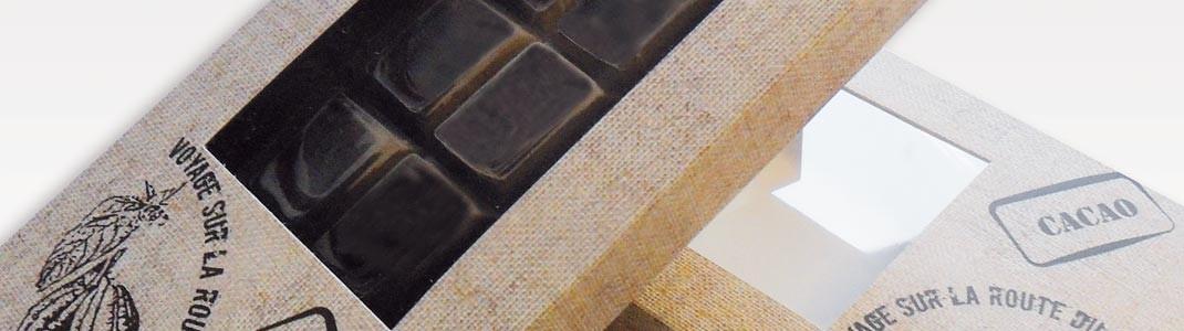 Packaging pour tablettes de chocolat - Les Étuis Tablettes