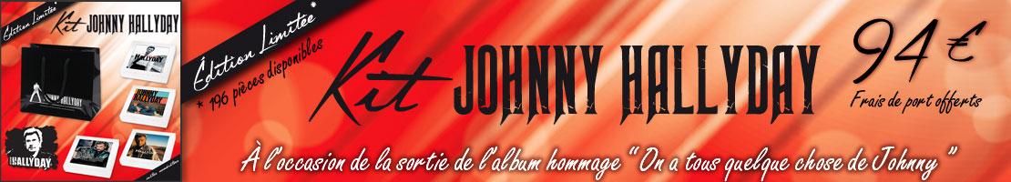 Embaline kit Johnny Hallyday