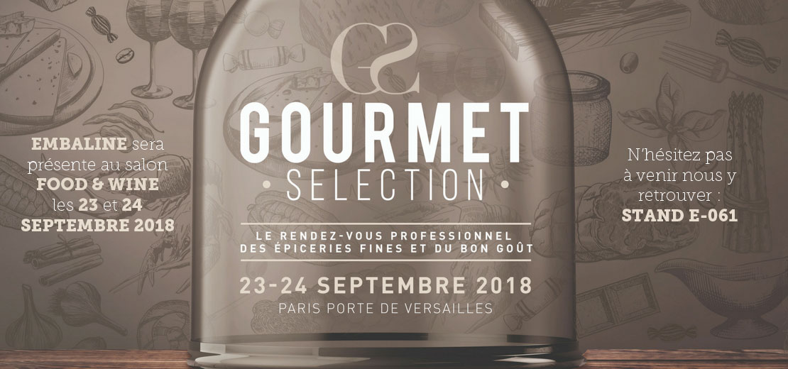 Salon Food and Wine 2018 - Embaline