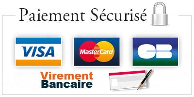 Embaline - Paiement sécurisé VISA, MasterCard, CB, Virement bancaire et chèque