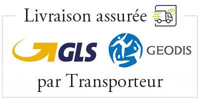Embaline - Livraison assurée par les transporteurs GLS et GEODIS