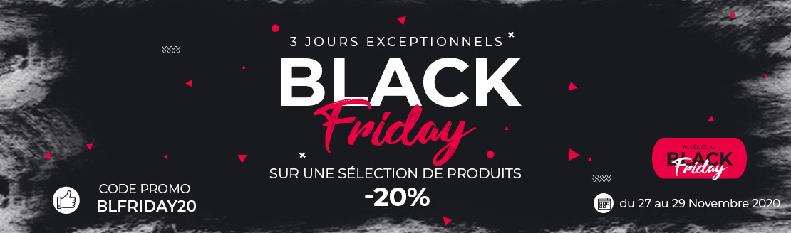Le grand BLACK FRIDAY Embaline fait sont retour !
