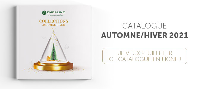 Catalogue Embaline Automne/Hiver - Emballages alimentaires de luxe (conception made in France) pour professionnels exigeants
